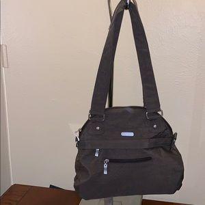 Baggalini Small Brown Hobo Bag